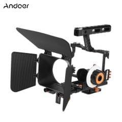 Andoer C500 Aluminum Alloy Camera Camcorder Video Cage Rig