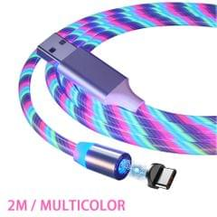 1M / 2M Magnetic Charging Cable Fast Charge Mobile Phone - 2M & for Type-C