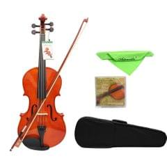 4/4 Full Size Solid Maple Viola of 16 Inch with Case Bow