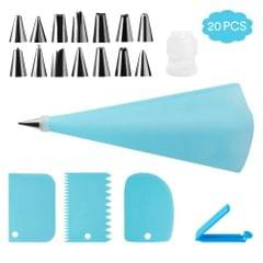 20Pcs Cake Decorating Tool Kit Baking Fondant Supplies - 20Pcs