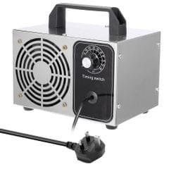 20g/h Portable Ozonator Air Filter Purifier Fan For Home Car - UK Plug