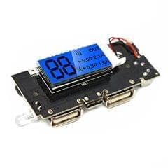 Prime  Rkh Bg 1031593 Dual Usb 5v, 18650 Battery Charger Mobile Power Bank Pcb Module Board, Multicolor
