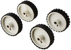 Prime    Robodo Electronics X Wheel 7x2 inch for Robotics Diy for Dc Gear Motor, 4 Pieces