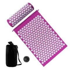 Acupressure Mat and Pillow Set with Spiky Massage Ball and
