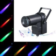 AC110-240V 15W RGB LED Mini Spot Lamp Stage Light Lighting - EU Plug
