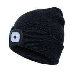 Unisex Kintted Hat with Led Light Autumn Winter Warm Beanie