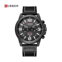 Curren Men Business Watch Fashion Six Watch Pin Alloy Case - 2