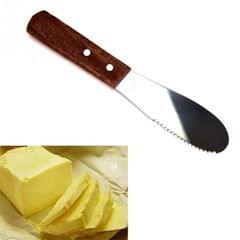 2 PCS Stainless Steel Cutlery Spatula Butter Knife Scraper Spreader Breakfast Tool Kitchen Accessory