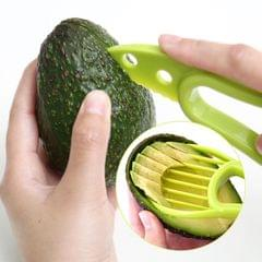 2 PCS 3 In 1 Avocado Slicer Shea Corer Fruit Peeler Cutter Pulp Separator Plastic Knife Kitchen Vegetable Tools