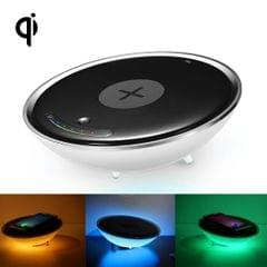 U1 QI Standard Wireless Charge Hemisphere Shaped Colorful Night Light , Multi-function Atmosphere Light for iPhone, Galaxy, Huawei, Xiaomi, LG, HTC and Other Smart Phones,  Used in Support QI Standard Phones, US/EU Plug