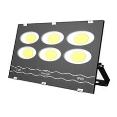 300W LED Waterproof Outdoor Searchlight Floodlight Warehouse Factory Building Flood Light (White Light)