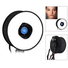 PULUZ 45cm Round Style Macro and Portrait Softbox SpeedLite Flash Light Foldable Diffuser (Style2)