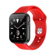 X6plus 1.54 inch IPS Color Screen Smart Watch,Support Heart Rate Monitoring/Blood Pressure Monitoring/Blood Oxygen Monitoring/Sleep Monitoring (Red)