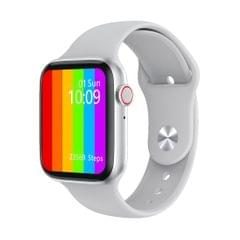 W26 1.75 inch IPS Color Screen Smart Watch, IP68 Waterproof, Support Temperature Monitoring/Heart Rate Monitoring/Blood Pressure Monitoring/Sleep Monitoring (White)
