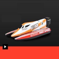 Innovative Mini Remote Control Boat (Orange)