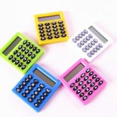 Pocket Cartoon Mini Calculator Candy Colors Handheld Coin Batteries Calculation Tool (Color Radom Delivery)