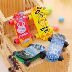 10 PCS Cartoon Creative Mini Scooter Shape Eraser School Supplies Children Gifts Random Color Delivery