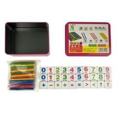Montessori Early Learning Math Tools Digital Stick Children Kindergarten Teaching Aids (Magnetic Stickers)