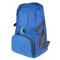 Nylon Men & Women Sports Backpack Outdoor Mountaineering Folding Fitness Travel Bags, Expansion Size: 54x23x17cm (Blue)