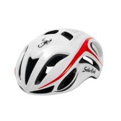 Outdoor Sports Mountainbiking Unibody Protective Helmet, Suitable Head Circumference: 58 - 62 cm (White)