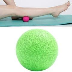 10 PCS Fascia Ball Deep Muscle Relaxation Plantar Acupoint Massage Fitness Mini Yoga Ball Massage Ball, Specification:Single Ball (Green)
