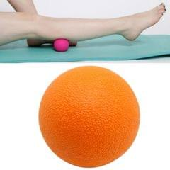 10 PCS Fascia Ball Deep Muscle Relaxation Plantar Acupoint Massage Fitness Mini Yoga Ball Massage Ball, Specification:Single Ball (Orange)