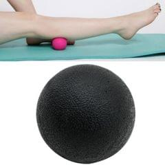 10 PCS Fascia Ball Deep Muscle Relaxation Plantar Acupoint Massage Fitness Mini Yoga Ball Massage Ball, Specification:Single Ball (Black)