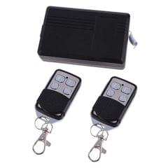 AC 220V 4CH Remote Switch Learning Code Receiver + 4 Buttons Remote Control 315MHz Transmitter