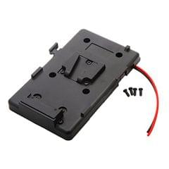 Power Supply Splitter BP Battery Contact Plate V-Mount Plate Pack for Camera