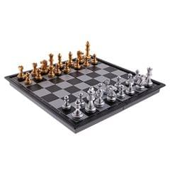 Portable Chess Folding Magnetic Board Chess Pieces Game Set DIY Kids Intelligent Development Home Entertainment Kids Gift