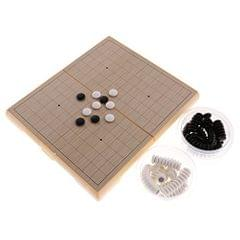 Go Board Game Weiqi Magnetic Go Stones Go Game Set for Beginner High Quality Portable