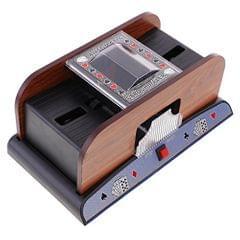 Automatic Card Shuffler 2 Deck Casino Playing Cards Sorter Poker Game Props