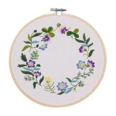 Hand Embroidery Kit Cross Stitch Patterns Sampler Kit for Beginners Craft DIY #1