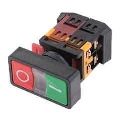On Off Start Stop Push Button with Light Indicator Momentary Switch