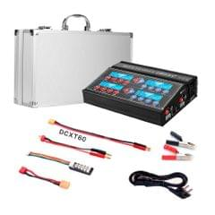 HTRC 4B6AC 80W Lithium Battery Charger Four-way Smart Balance Charger, EU Plug