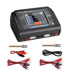 HTRC T240 Touch Balance Model Airplane Lithium Battery Charger Remote Control Car Toy B6 Charger, US Plug