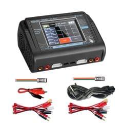 HTRC T240 Touch Balance Model Airplane Lithium Battery Charger Remote Control Car Toy B6 Charger, EU Plug