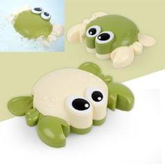 10 PCS Baby Bath Toys on the Chain Playing with Small Crab (Green Random Delivery)