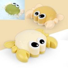 10 PCS Baby Bath Toys on the Chain Playing with Small Crab (Yellow Random Delivery)