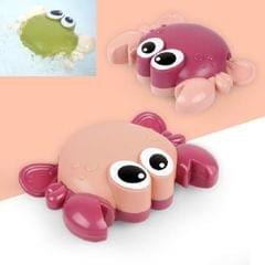 10 PCS Baby Bath Toys on the Chain Playing with Small Crab (Red Random Delivery)
