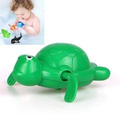 10 PCS Baby Bath Toys Playing in Water Swimming Clockwork Toys (Green Baby Turtle)