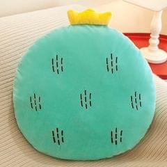 Fruit Cushion Office Student Toy Strawberry Pineapple Pillow Plush Toy (Amber)
