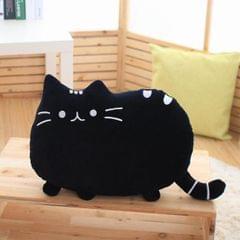 3 PCS Soft Plush Stuffed Animal Doll Anime Toy Cute Cushion (Black)