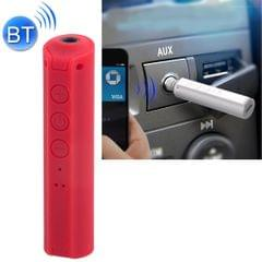 Portable Stereo Bluetooth Adapter Mini Portable Bluetooth 4.2 Wireless Bluetooth Music Receiver with 3.5mm Hands-free Stereo Audio Adapter for Car Home Use (Red)