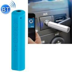 Portable Stereo Bluetooth Adapter Mini Portable Bluetooth 4.2 Wireless Bluetooth Music Receiver with 3.5mm Hands-free Stereo Audio Adapter for Car Home Use (Blue)