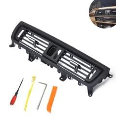Car Front  Console Grill Dash AC Air Vent 64229166885 for BMW 5 Series, with Installation Tools