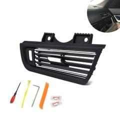 Car Plating Right Console Grill Dash AC Air Vent 64229166884 for BMW 5 Series, with Installation Tools