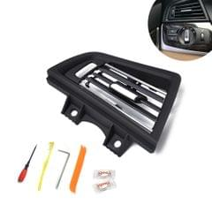 Car Plating Left Console Grill Dash AC Air Vent 642291668835 for BMW 5 Series, with Installation Tools