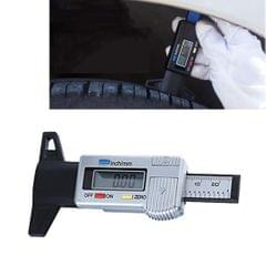 0-25mm Electronic Digital Tread Plan Refinding Rounds Refinding Outcome Exists Tread Tablets Type Gauge Depth Vernier Caliper Measuring Tools (Silver)