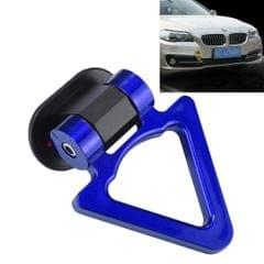 Car Truck Bumper Triangle Tow Hook Adhesive Decal Sticker Exterior Decoration (Blue)